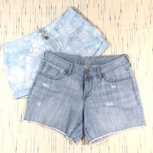 Old Navy Women's Lot of 2 Jean Shorts Size 4